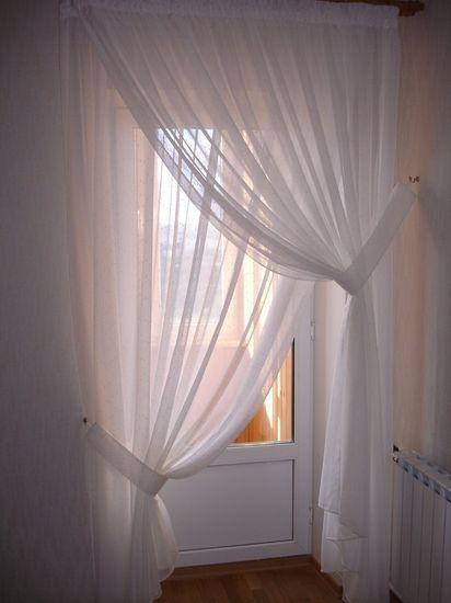 Шторы в спальне фото своими руками